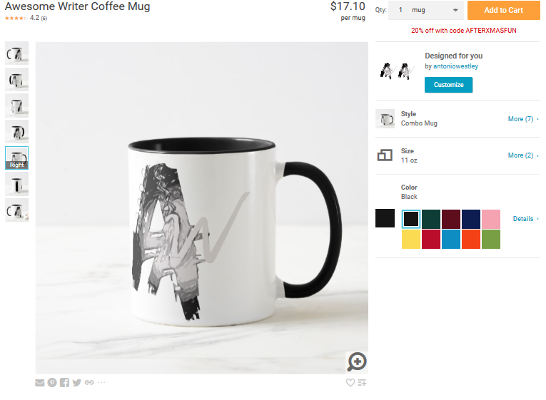 awesome-writer-coffee-mug